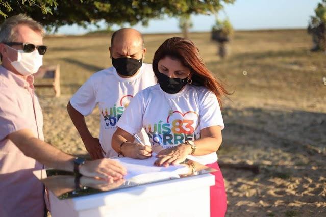 Prefeita Maninha assina ordem de serviços para reforma e ampliação do Ponto turístico Árvore Penteada