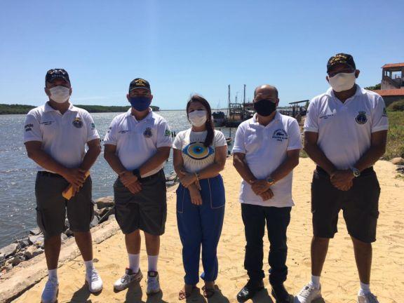 Prefeita Maninha Fontenele recebe equipes do DNIT e Marinha para viabilização de obras em Luís Correia
