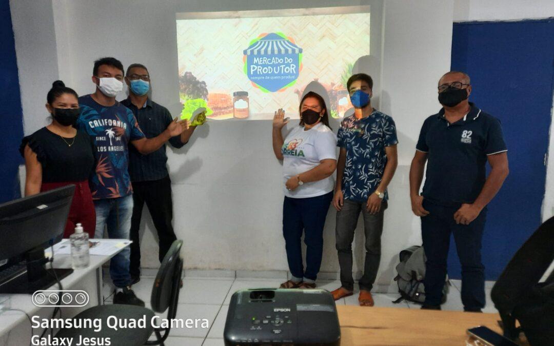 Prefeitura de Luís Correia inicia preparativos para realizar feira Mercado do Produtor