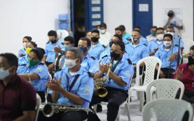 Prefeitura de Luís Correia entrega novos instrumentos para a banda 26 de Julho