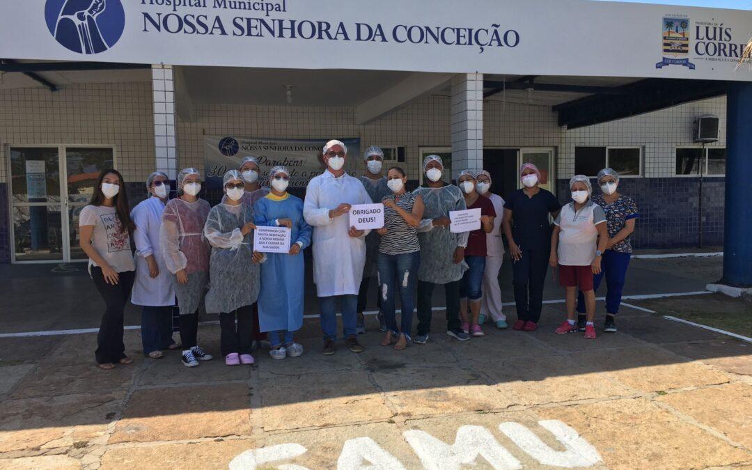 Após zerar atendimentos, Luís Correia encerra atividades do Centro Covid