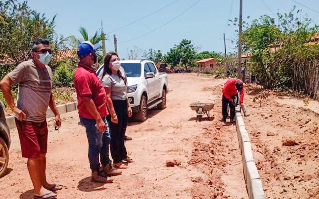 Prefeitura de Luís Correia inicia obras de pavimentação nos povoados Brejinho de Fátima e Jabuti 2