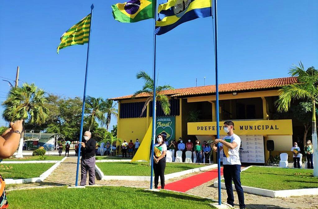 Momento cívico marca Dia da Independência em Luís Correia